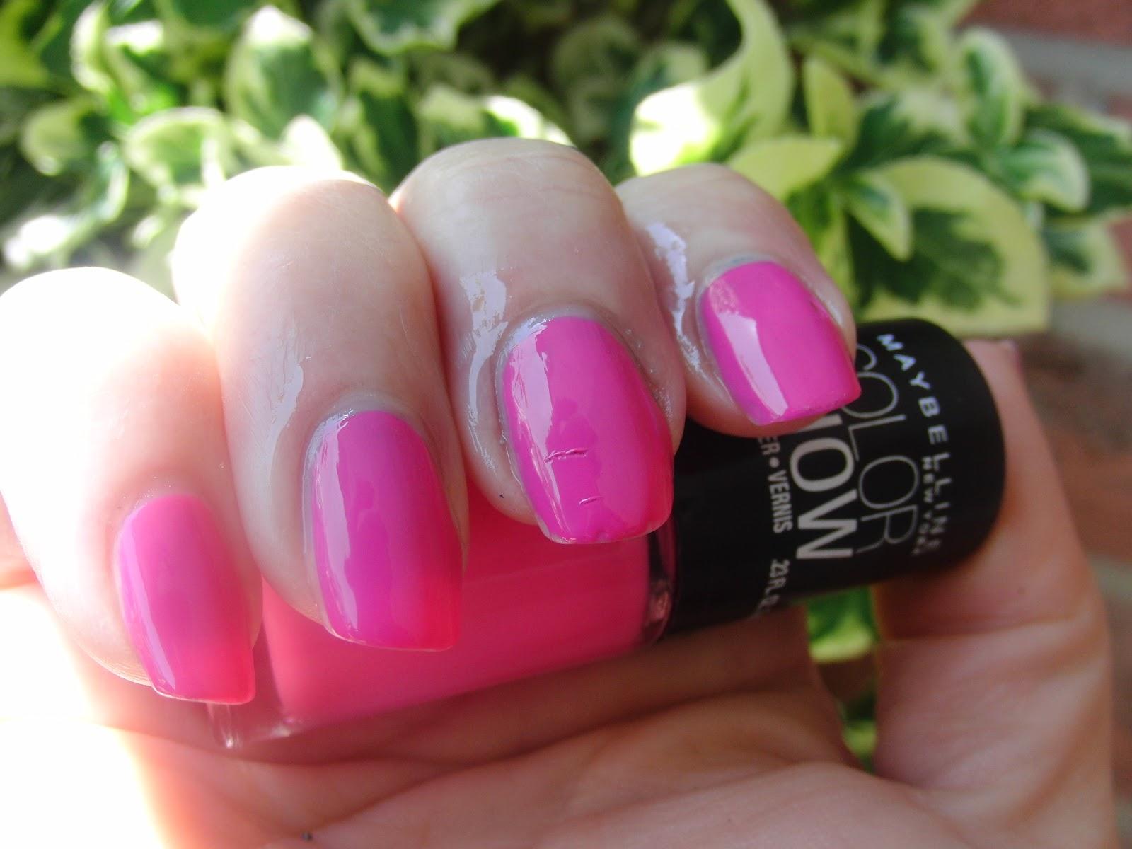 Maybelline pinkalicious