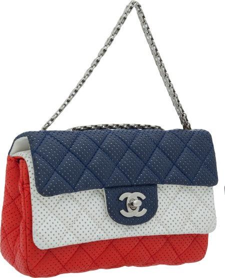 Stunning Double Flap Handbag