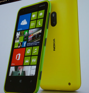 nokia lumia 620 yellow and lime green cheap price