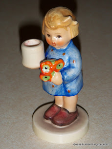 Girl With Nosegay Advent Candle Holder #115
