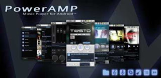 Aplikasi Musik Android PowerAmp Music Player