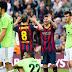 الدوري الأسباني : بالفيديو إعصار من نوع برشلوني يعصف بأوساسونا بسباعية وميسي يحصد لقب جديد