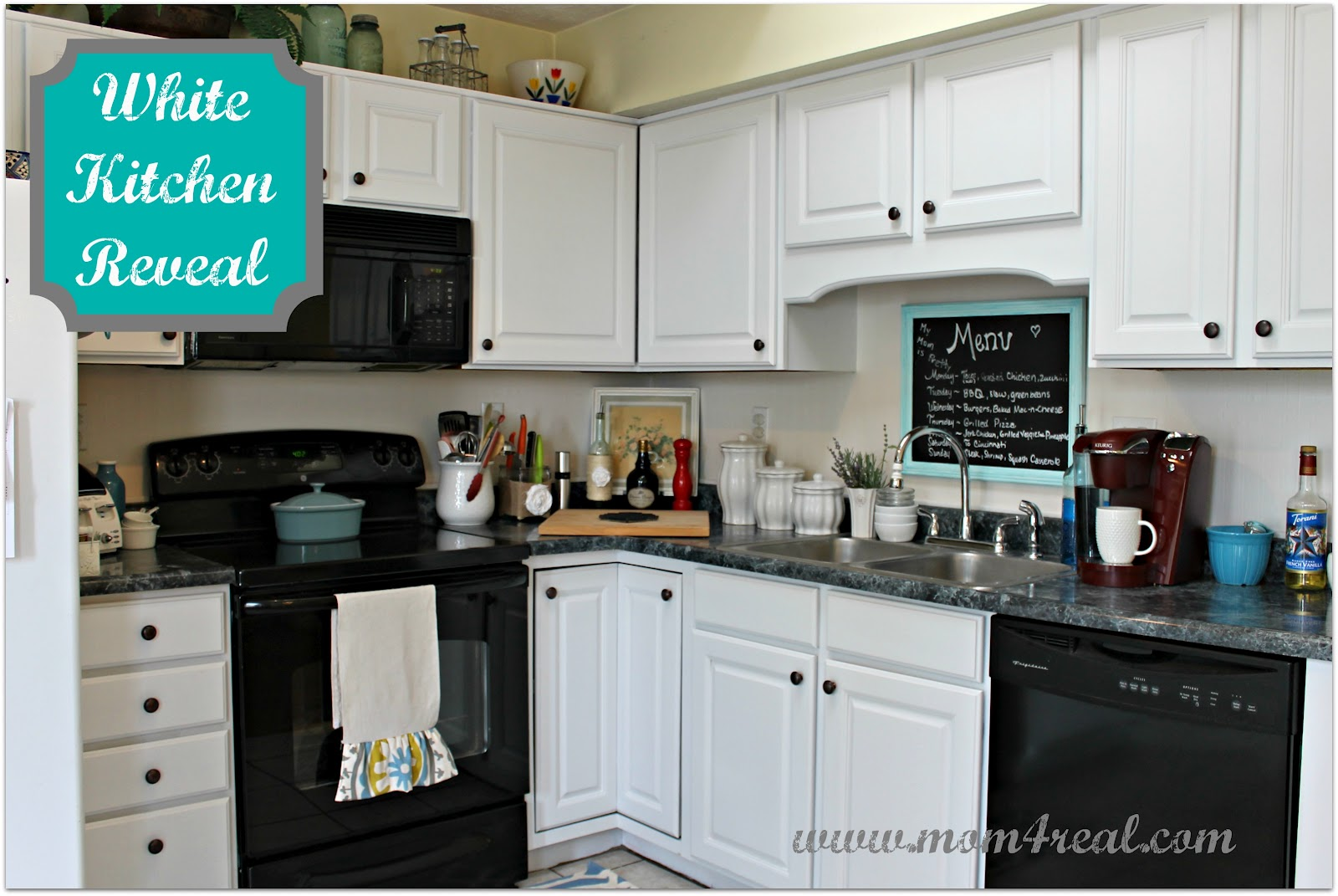 Stunning White Kitchen Reveal A Before u After