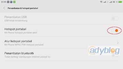 Cara Menggunakan WiFi Hotspot Portable Xiaomi Mi 4i