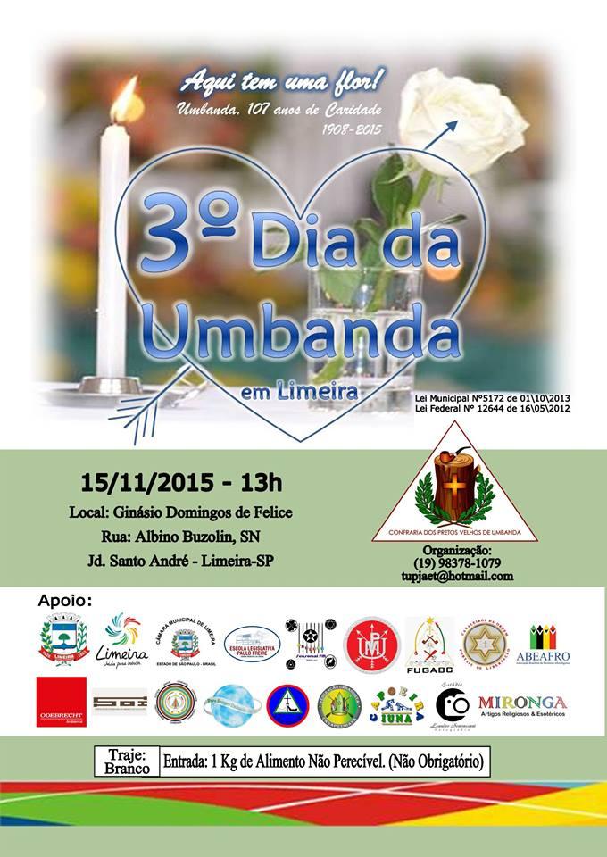 3º Dia da Umbanda em Limeira