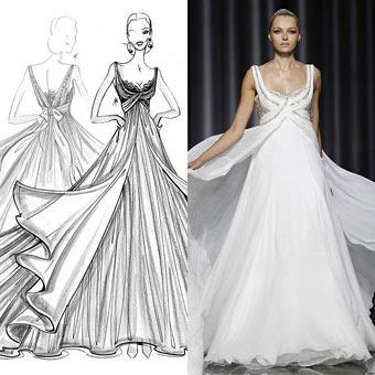 8 Vestidos de Noiva feitos sob medida...!
