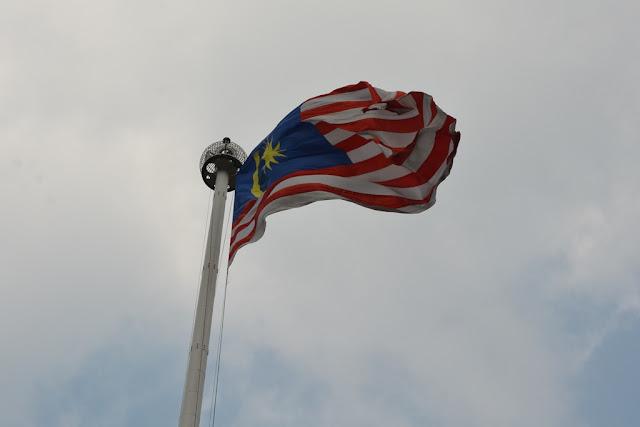 Merdeka Square Kuala Lumpur flag
