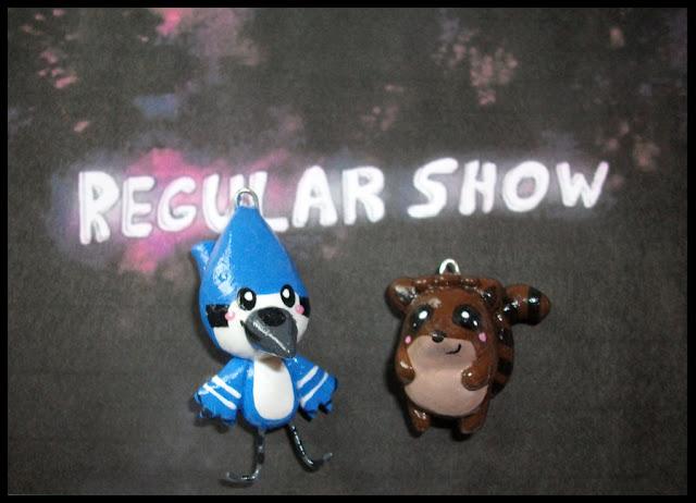 Chibi-Charms: Regular Show por MandyPandaa