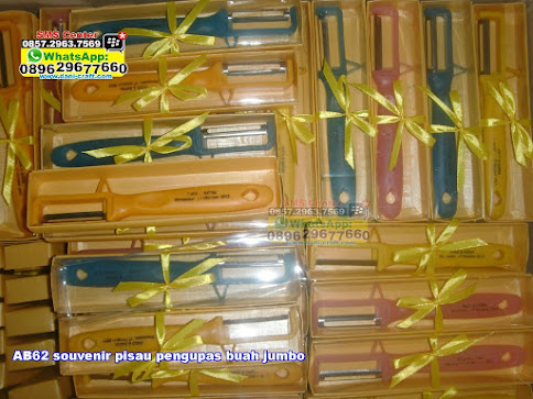 souvenir pisau pengupas buah jumbo jual