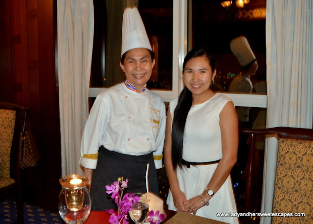 Chef Naruemol Poolkuan of Benjarong