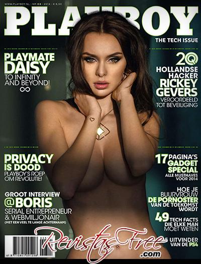 Daisy Olie - Playboy Netherlands - Março 2014