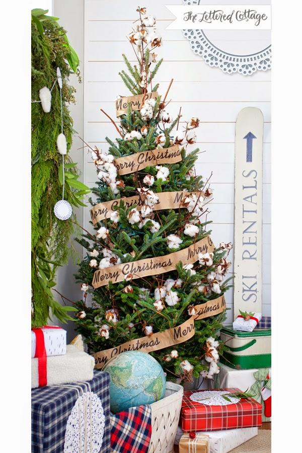 Belle Beau Antiquarian Natural Christmas Decorations