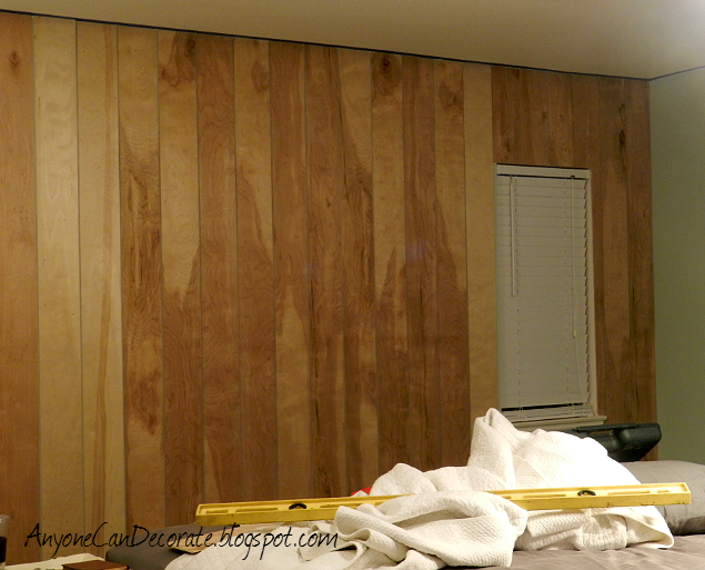 how to paint a wall to look like wood planks