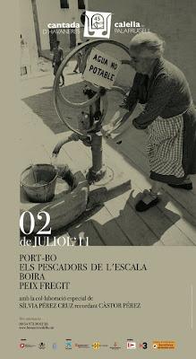 Cartell 45º Cantada d'Havaneres de Calella de Palafrugell