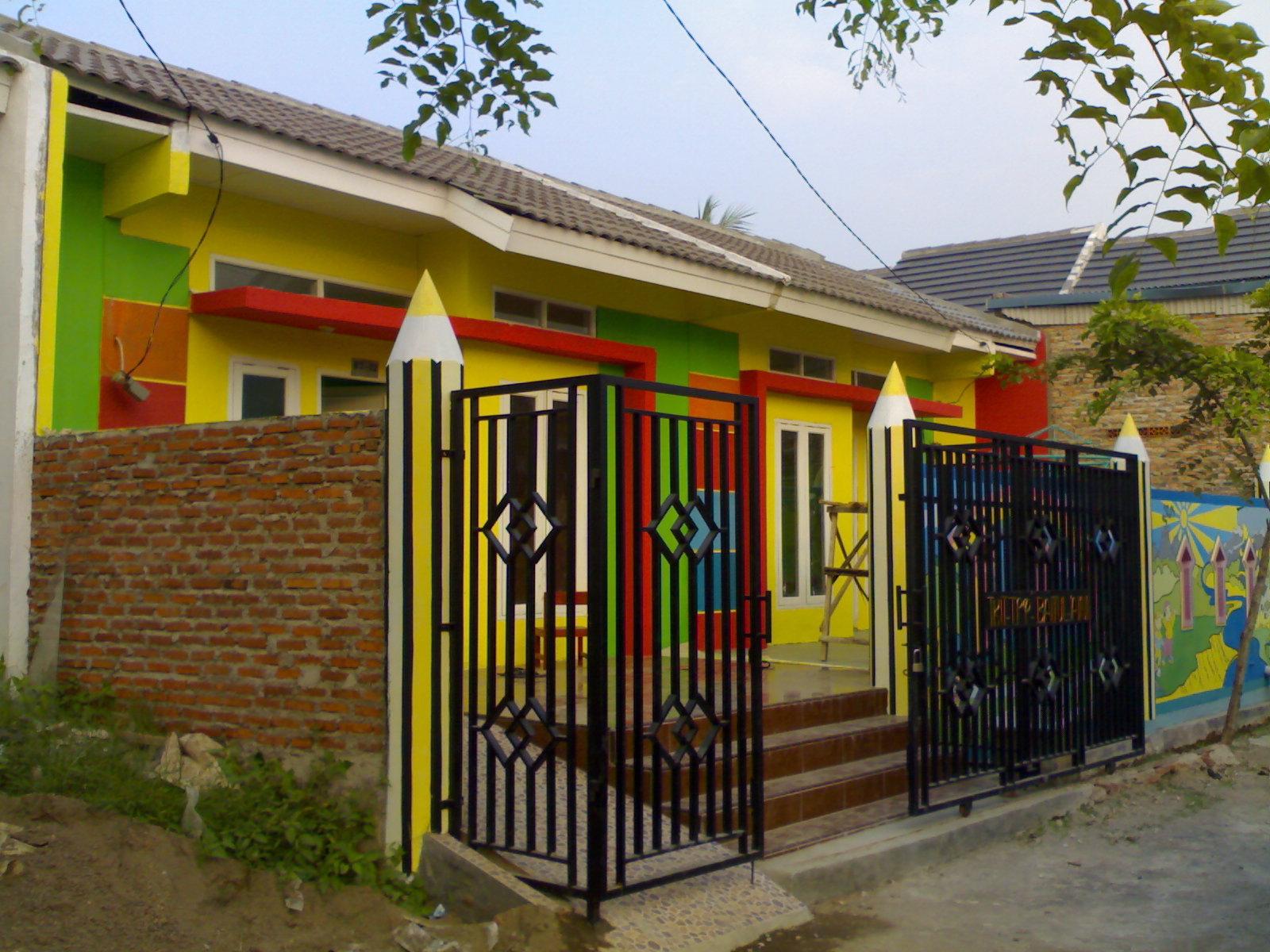 TKIT TPQ BAITUL AINI Tampak Depan Gedung Sekolah Taman Kanak