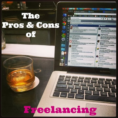 The Pros and Cons of Freelancing | TheEconomicalEater.com