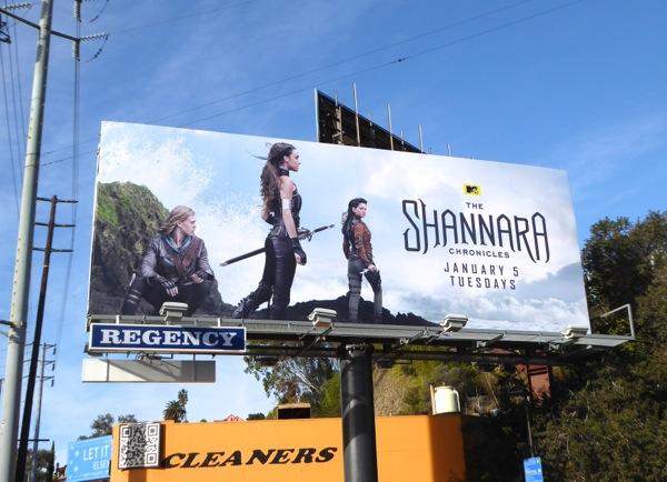 Shannara Chronicles series premiere billboard