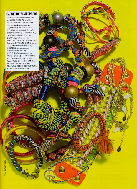 GLAMOUR SPAIN Nº 114. Abril 2012 GOES SHOPPING Domingo Ayala Handmade