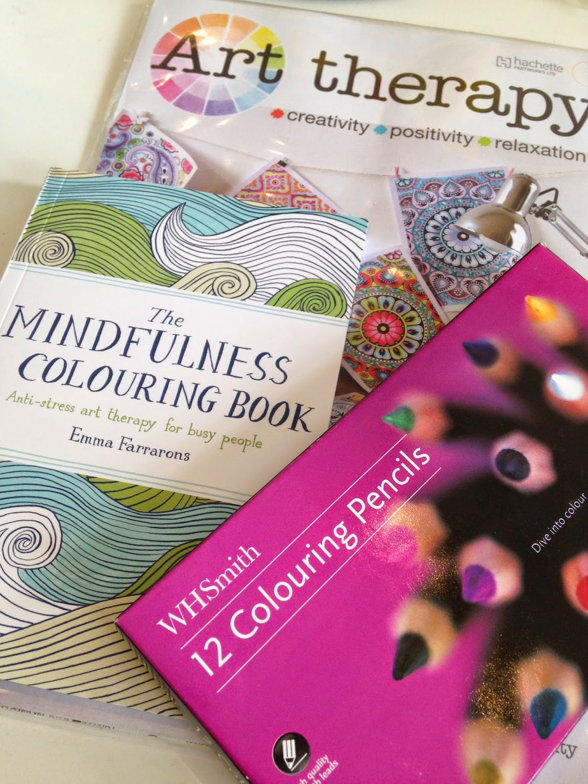 Mindfulness colouring book | FitBits | Marathon Training