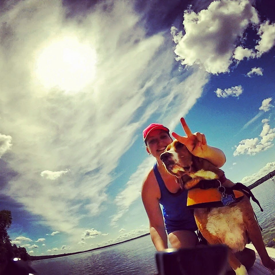 Stand Up Paddle Guide Courtney And Her Sup Pup