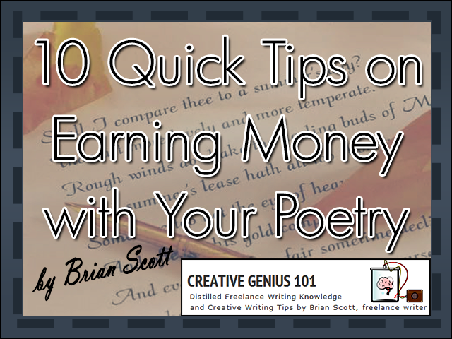 Earn Money with Your Poetry