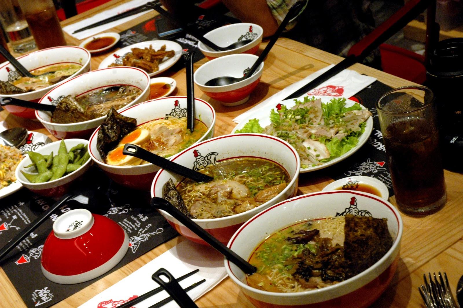 Dude for food food news ikkoryu fukuoka ramen now open for Aura world fusion cuisine