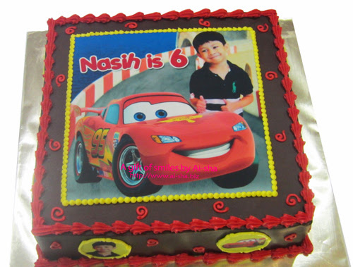 Edible Cake Images Cars : Birthday Cake Edible Image Disney Cars - Aisha Puchong Jaya