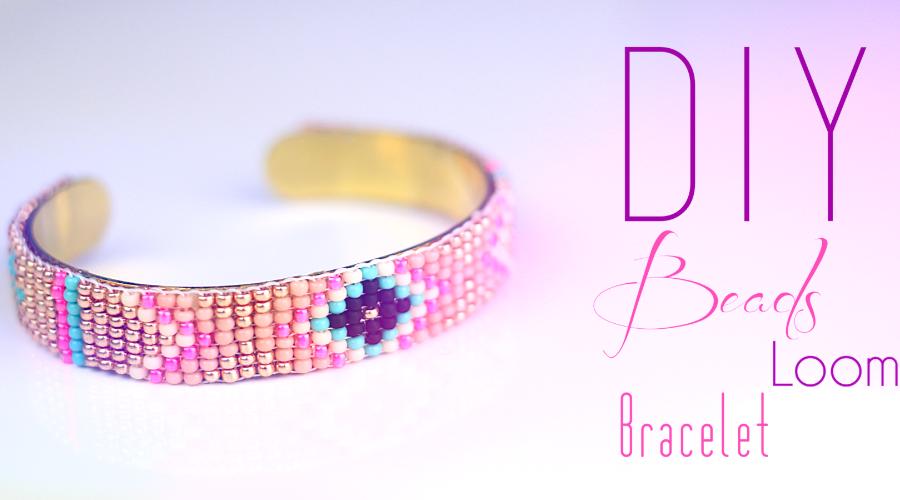 Diy Tutoriel Bracelet En Perles Tisse Navajo Et Azteque Fabrique