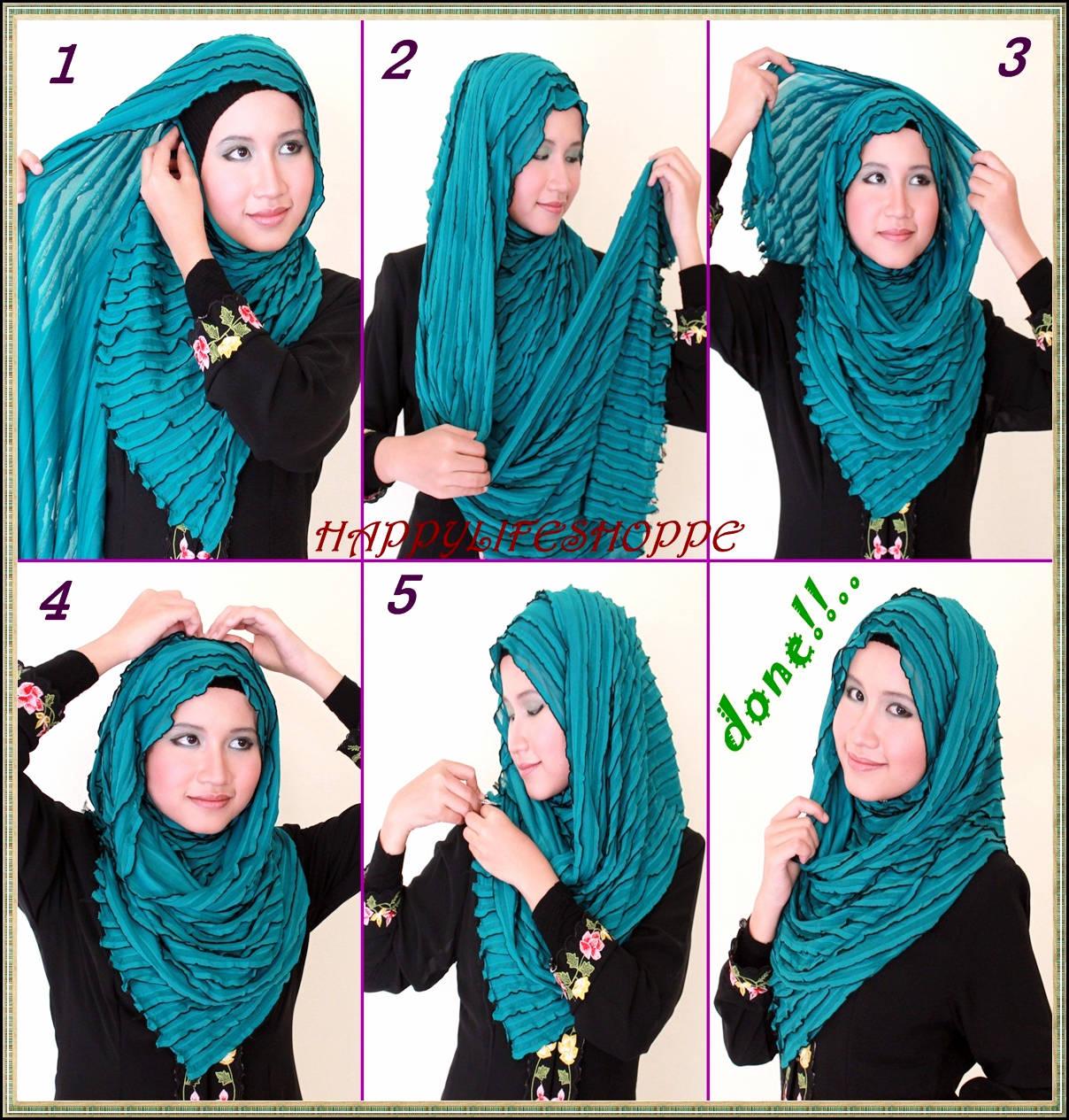 Jilbab Simple Untuk Bepergian