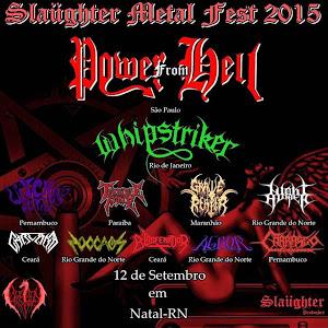 SLAUGHTER METAL FEST 2015