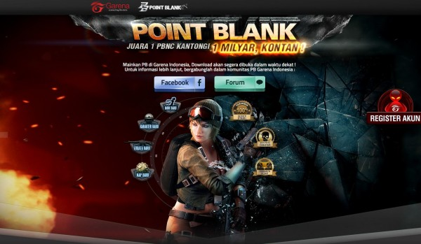 Download agme online Point Blank Garena Indonesia