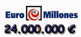 Euromillones del viernes 9 de mayo de 2014