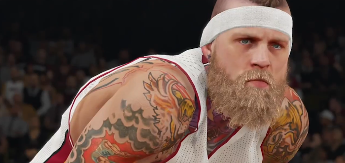 NBA 2K15 'Yakkem' Trailer Gameplay Screenshot - Chris 'Birdman' Anderson