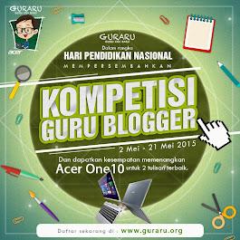 Kompetisi Guru BLOGGER 2015