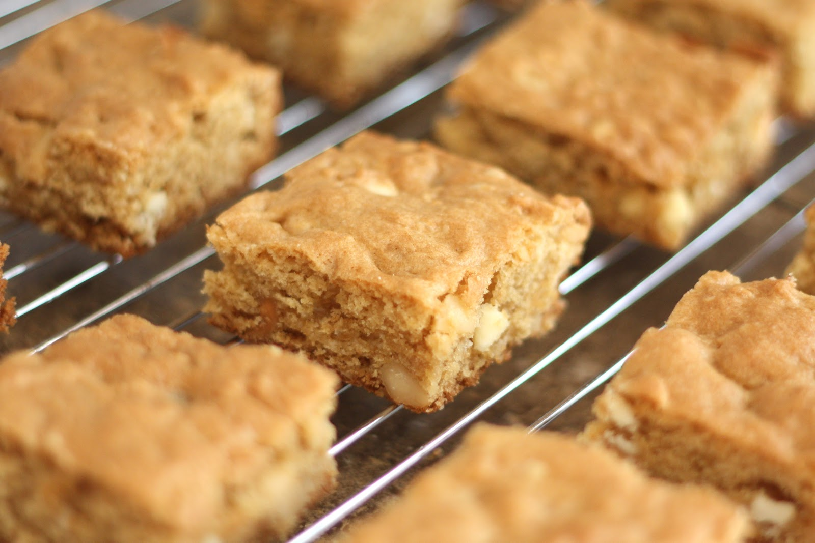 Download image White Chocolate Macadamia Nut Blondies PC, Android ...