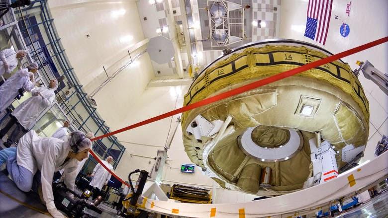 Ο ιπτάμενος δίσκος της NASA