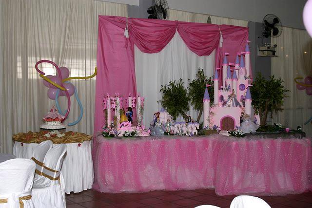 rciaM & Rosa e Lilás Decoração temática para aniversário