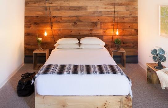 Cabeceros de madera ideas grandiosas para cabeceros de madera - Cabeceros con luz ...