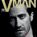 JAKE GYLLENHAAL COVERS 'VMAN' MAGAZINE WINTER 2013