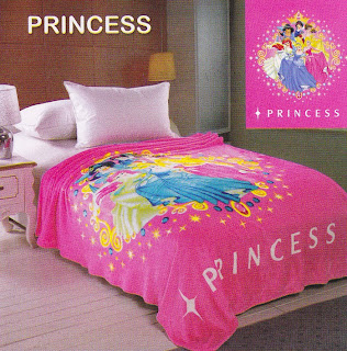 Selimut Sutra Panel Belladona Princess