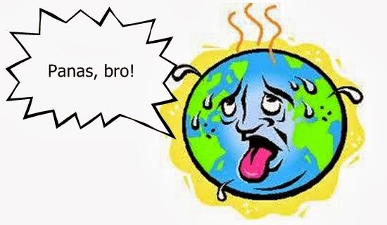 Penyebab Suhu Bumi Sangat Panas Siang Ini