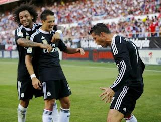 Results : Sevilla 2-3 real Madrid