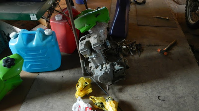 汚いエンジン