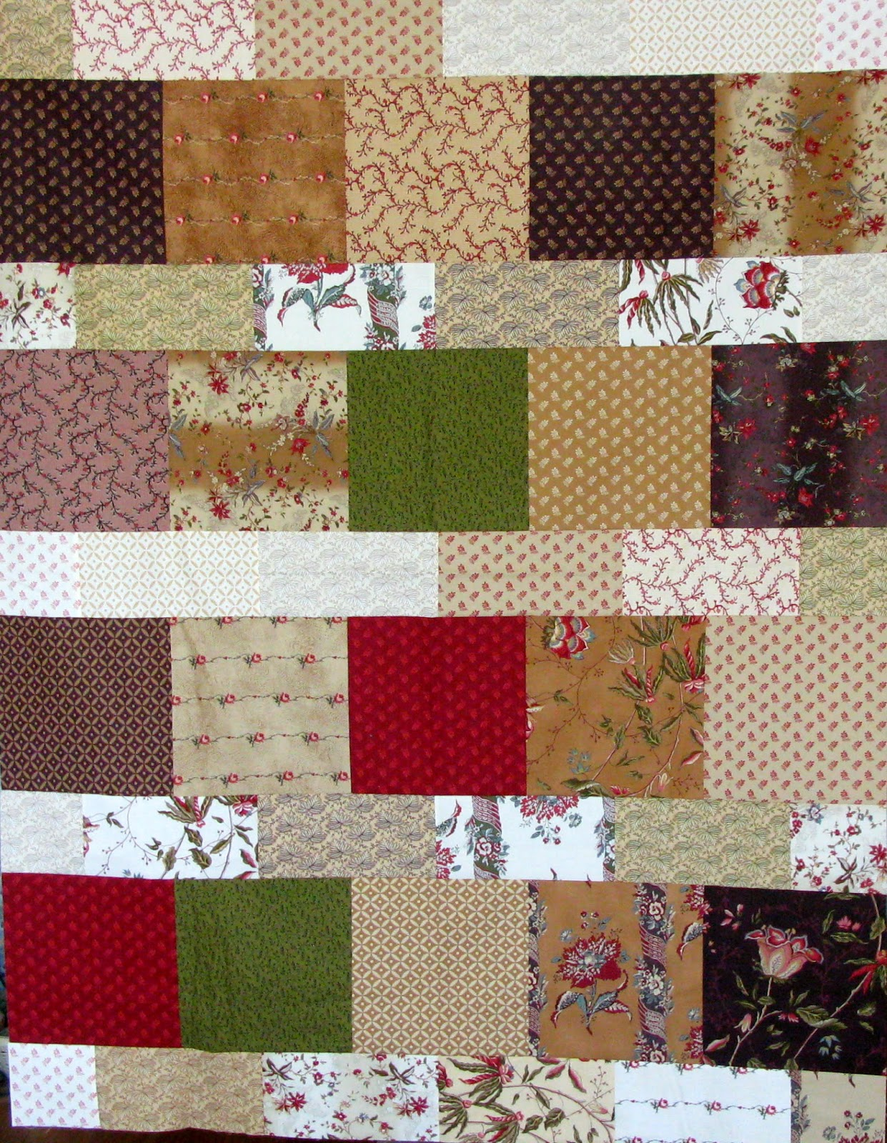 Quilting in Carmichael: Day Dreams BOM Month 2 and Layer ...