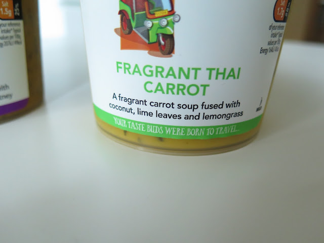 Fragrant Thai Carrot Soup