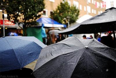 östersjöfestivalen, regn, regnigt, 2012, paraplyer, ösregn, tsyfpl, foto anders n