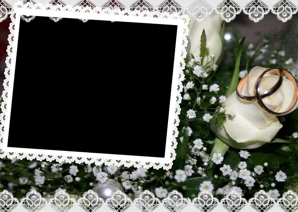 Marcos de fotos de boda o matrimonio marcos gratis para fotograf as - Marcos de plata para bodas ...