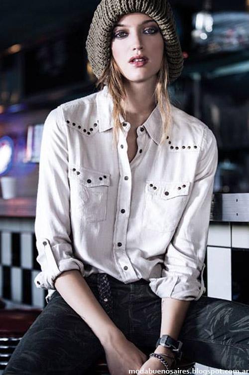 camisas de moda invierno 2014 Wrangler