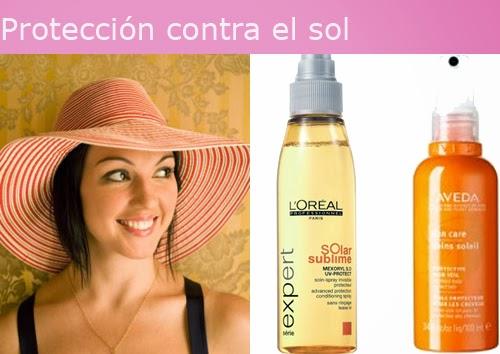proteger cabello sol