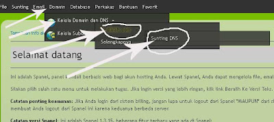 setting cname mwn untuk hosting blogspot